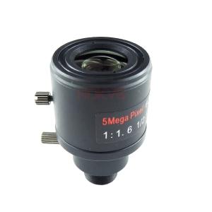 HKMTV 5 Megapixel 6mm – 22mm M12 Varifocal CCTV Zoom Lens